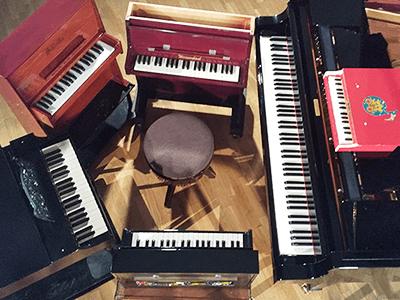 トイピアノ&グランドピアノ