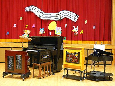 子供対象公演セッティング例