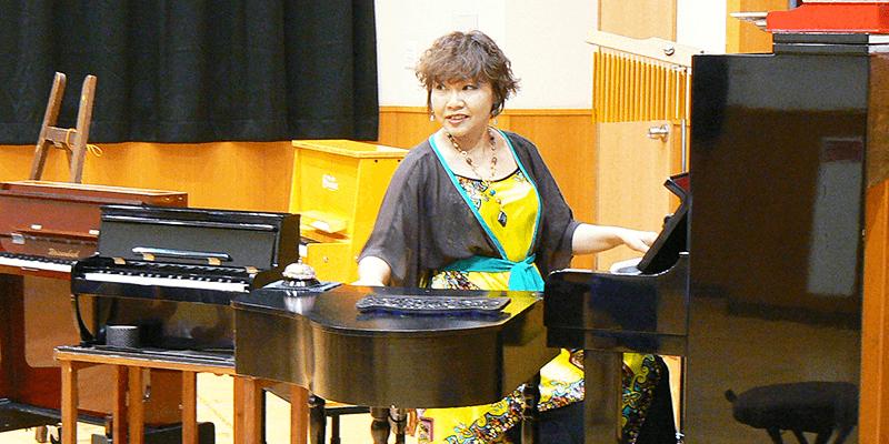 トイピアノ演奏とお話(出演者1名~)